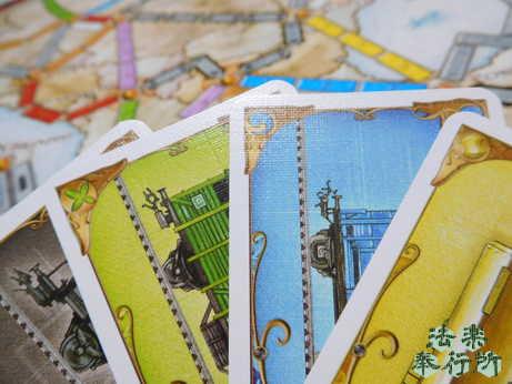 チケットトゥライドヨーロッパ 列車カード