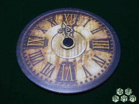 エルダーサイン完全日本語版(原題『ELDER SIGN』) 時計盤