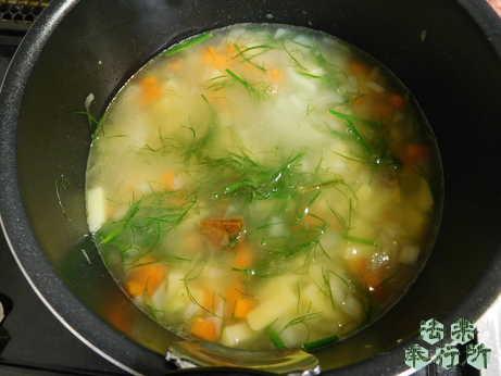 フェンネル 適当スープ②