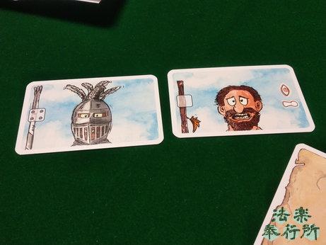 ランスロット Lanzeloth ボードゲーム 兜の装備カード二種類