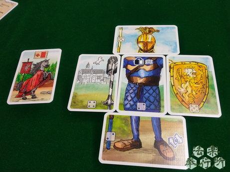 ランスロット Lanzeloth ボードゲーム 公開した騎士