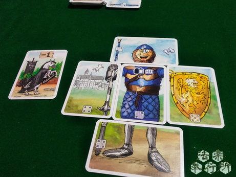 ランスロット Lanzeloth ボードゲーム それなりの騎士