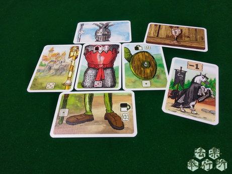 ランスロット Lanzeloth ボードゲーム いまいちな騎士