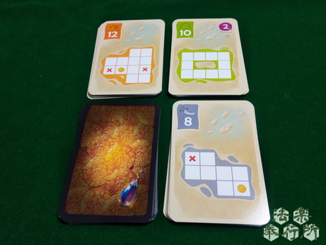 ボードゲーム シルバー&ゴールド(Silver&Gold) 宝の地図カード