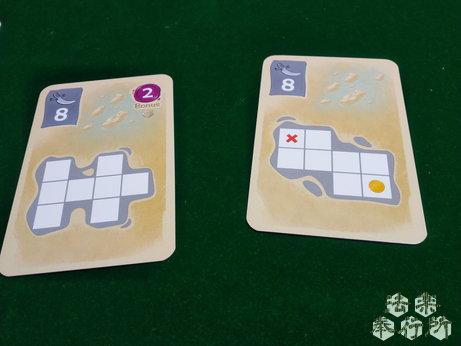 ボードゲーム シルバー&ゴールド(Silver&Gold) カード。