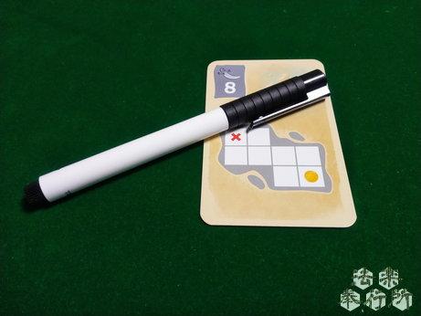 ボードゲーム シルバー&ゴールド(Silver&Gold) 付属のペン
