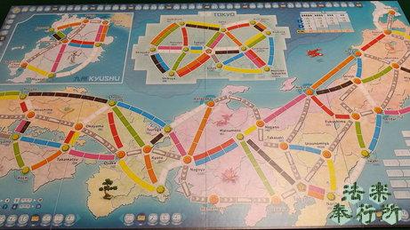 チケット・トゥ・ライド 日本/イタリア(ボードゲームプレイ感想編①)