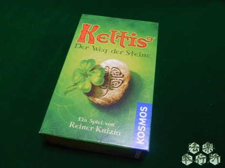 ケルトタイル 原題『Keltis - Der Weg der Steine』(ボードゲーム開封編)