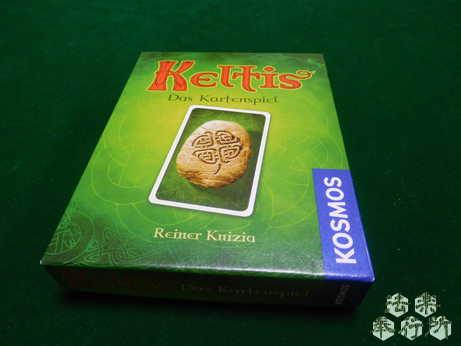 ケルトカード 原題『Keltis‐Das Kartenspiel』(ボードゲーム開封編)