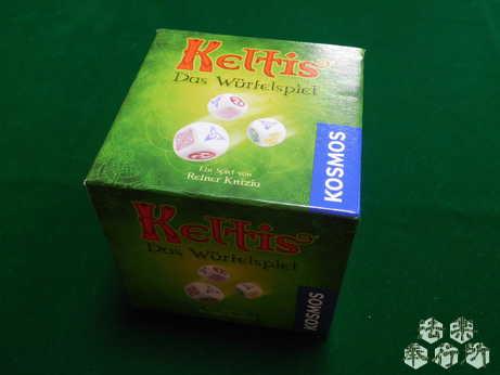 ケルトダイス 原題『Keltis - Würfelspiel』(ボードゲーム開封編)