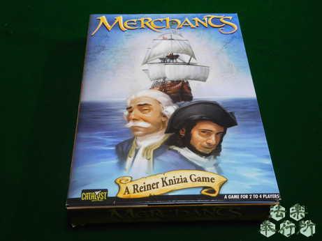交易王 原題:『Handelsfuersten: Herren der Meere』(ボードゲーム開封編)