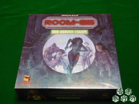 ルーム25 原題:『ROOM-25』(ボードゲーム開封編)