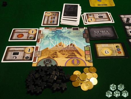 NUBIA ヌビア~ナイルの古代王国~(ボードゲームプレイ感想編)