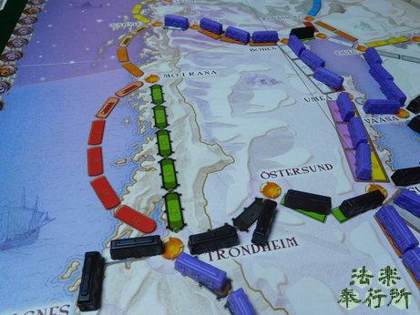 チケット・トゥ・ライド:北欧の国々(ボードゲームプレイ感想編)