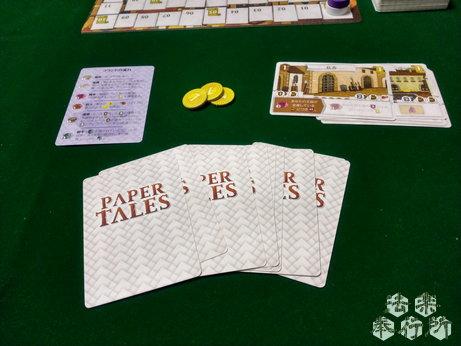ペーパーテイルズ日本語版 原題:PAPER TALES(ボードゲームプレイ感想編)