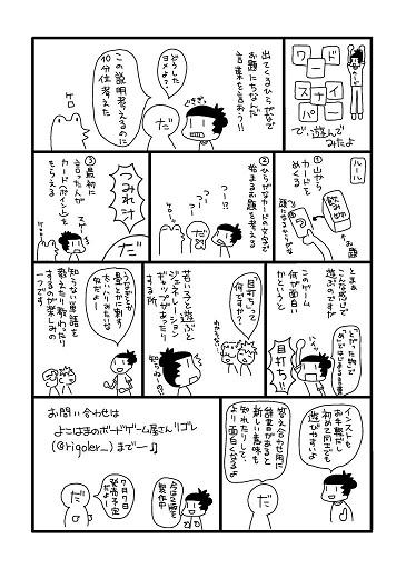 ゆるゆるボドゲバカ様(@yuruyurubgbk)作の解説漫画
