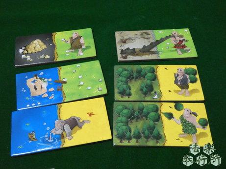 キングドミノ 巨人の時代(キングドミノ拡張)(ボードゲームプレイ感想編)