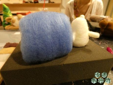 もふもふレポート 羊毛フェルト