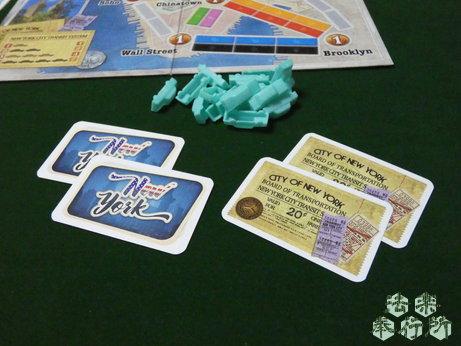 チケット・トゥ・ライド ニューヨーク(ボードゲームプレイ感想編)