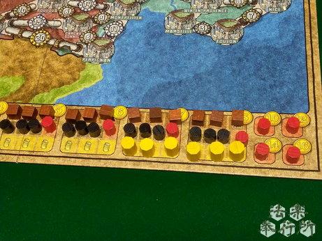 電力会社 拡張 フランス・イタリアマップ(ボードゲームプレイ感想編)
