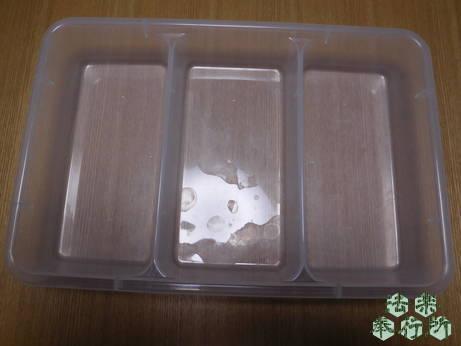 フライの衣付け用トレイ(100円均一) 水耕栽培 豆苗
